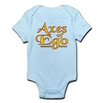 Axes logo 3 Infant Bodysuit