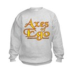 Axes logo 3 Kids Sweatshirt