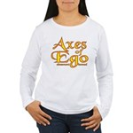 Axes logo 3 Women's Long Sleeve T-Shirt