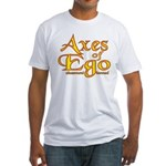 Axes logo 3 Fitted T-Shirt