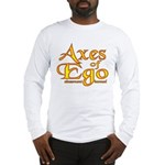 Axes logo 3 Long Sleeve T-Shirt