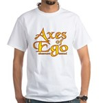 Axes logo 3 White T-Shirt