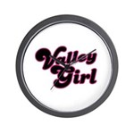 Valley Girl #1 Wall Clock