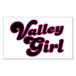 Valley Girl #1 Rectangle Sticker