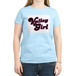 Valley Girl #1 Women's Pink T-Shirt
