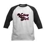 Valley Girl #1 Kids Baseball Jersey