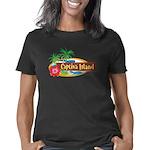 Captiva-Oval10x10Blk Women's Classic T-Shirt