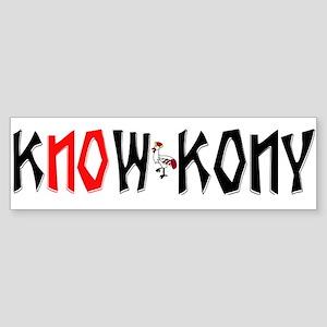 Know Kony Bumper Sticker