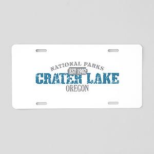 Crater Lake National Park OR Aluminum License Plat