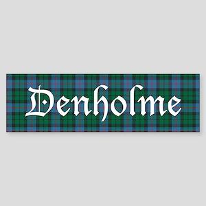 Tartan - Denholme Sticker (Bumper)