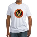 Border Patrol, US Citizen - Fitted T-Shirt