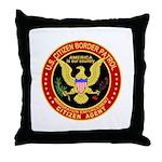Border Patrol, US Citizen -  Throw Pillow