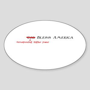 Political Correctness Oval Sticker