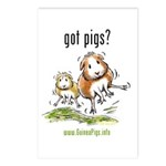 Got Pigs Postcards (Package of 8)