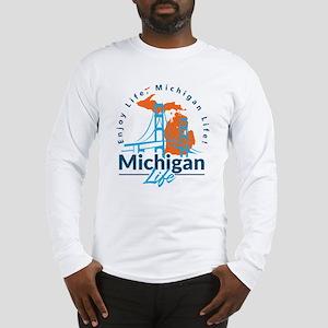 Michigan Life #28 Long Sleeve T-Shirt