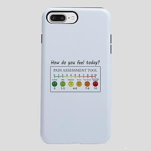 Pain assessment chart hum iPhone 7 Plus Tough Case