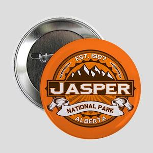 """Jasper Pumpkin 2.25"""" Button"""