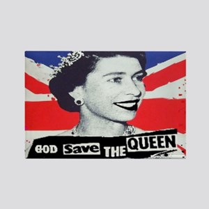 GOD SAVE THE QUEEN Rectangle Magnet