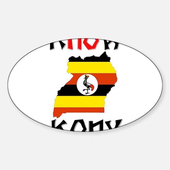 STOP KONY Sticker (Oval)