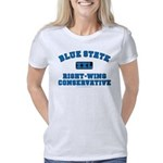 Blue State Right-Wing Women's Classic T-Shirt
