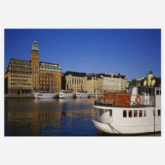 Hotel at the waterfront, Strand Hotel, Stockholm,