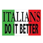 Italians Do It Better Postcards (Pkg/8)