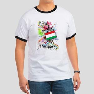 Flower Hungary Ringer T