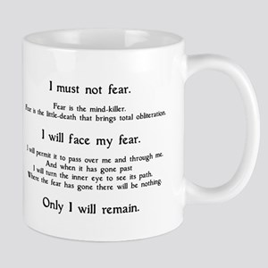 Litany Against Fear Mug
