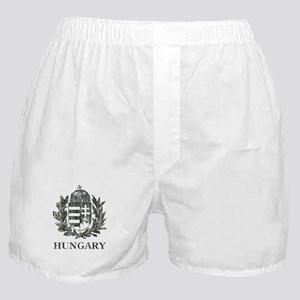 Vintage Hungary Coat Of Arms Boxer Shorts