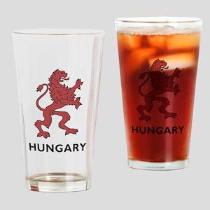 Hungary Lion Drinking Glass