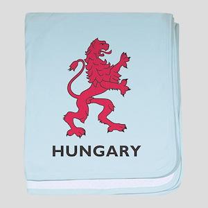 Hungary Lion baby blanket