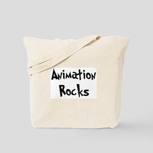 Animation Rocks Tote Bag