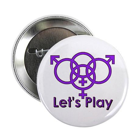 "Swinger Symbol ""Let's Play"" 2.25"" B"