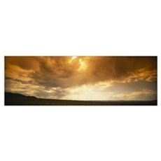 Clouds in the sky, Taos, Taos County, New Mexico Poster