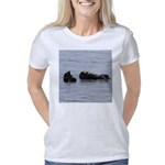 Sea Otters with Baby Women's Classic T-Shirt