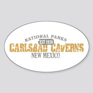 Carlsbad Caverns NM Sticker (Oval)