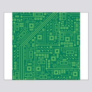 Green Circuit Board Small Poster