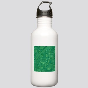 Green Circuit Board Stainless Water Bottle 1.0L