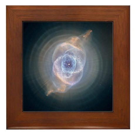 Cat's Eye Nebula Framed Tile