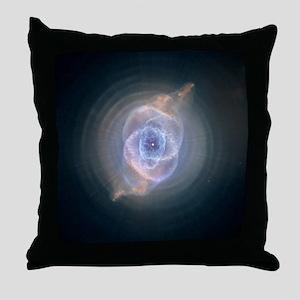 Cat's Eye Nebula Throw Pillow
