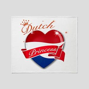 Dutch Princess Throw Blanket
