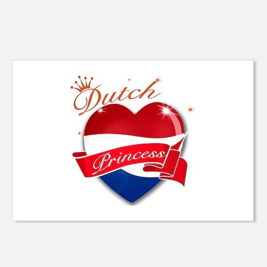 Dutch Princess Postcards (Package of 8)