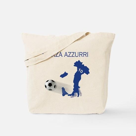 Forza Azzurri Tote Bag