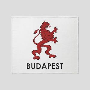Budapest Lion Throw Blanket