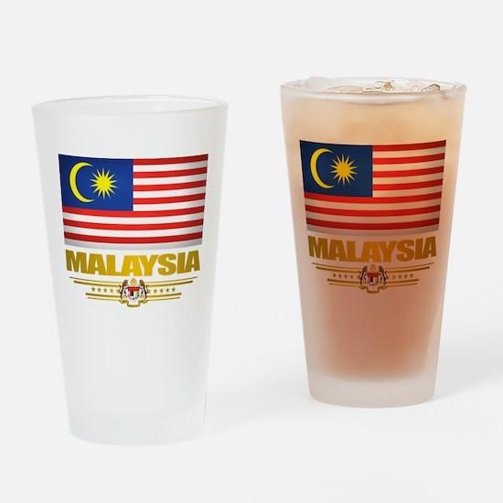 """Malaysian Pride"" Drinking Glass"