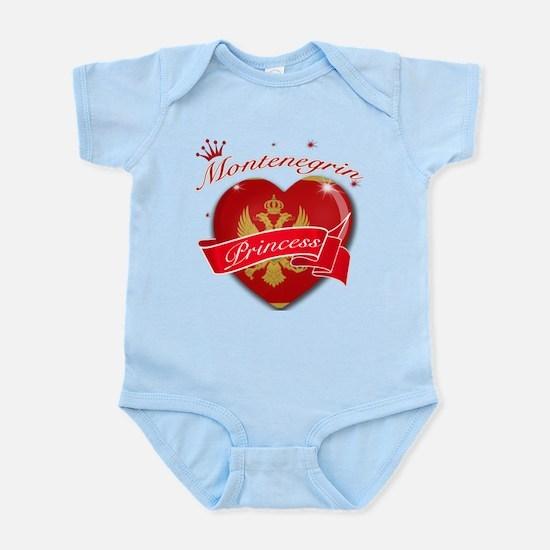 Montenegrin Princess Infant Bodysuit