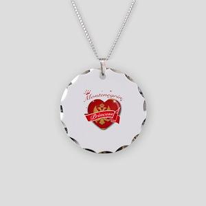 Montenegrin Princess Necklace Circle Charm