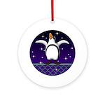 Penguin5 Ornament (Round)
