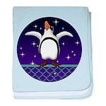 Penguin5 baby blanket