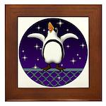Penguin5 Framed Tile